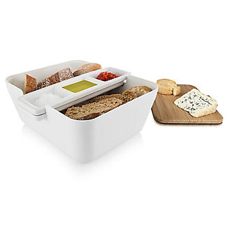 Tomorrow's Kitchen Bread and Dip Dish Set with Cutting Board