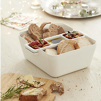 Tomorrow's Kitchen Bread and Dip Dish Set with Cutting Board alt image 2