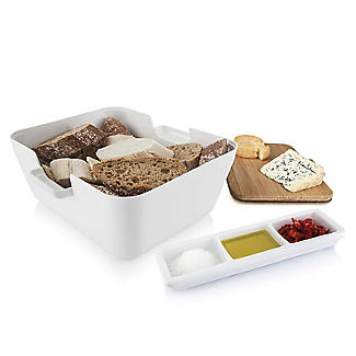 Tomorrow's Kitchen Bread and Dip Dish Set with Cutting Board alt image 5