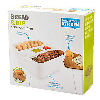Tomorrow's Kitchen Bread and Dip Dish Set with Cutting Board alt image 6