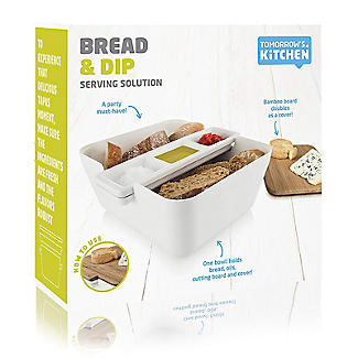 Tomorrow's Kitchen Bread and Dip Dish Set with Cutting Board alt image 7