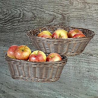 Dishwasher Safe Bread Basket Round alt image 2