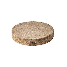 T&G Woodware Round Cork Table Mats Set of 6