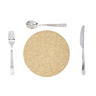 T&G Woodware Round Cork Table Mats Set of 6 alt image 3