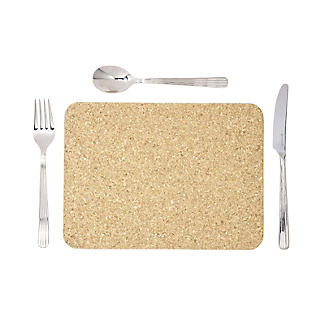 T&G Woodware Rectangular Cork Table Mats Set of 6 alt image 5
