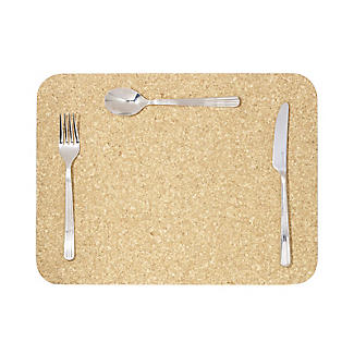 T&G Woodware Large Rectangular Cork Table Mats Set of 4 alt image 5