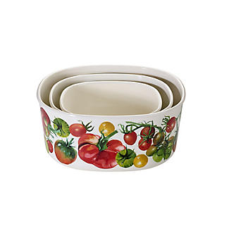 Emma Bridgewater Vegetable Garden Melamine Storage Boxes – Set of 3 alt image 2