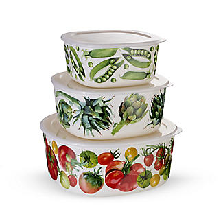 Emma Bridgewater Vegetable Garden Melamine Storage Boxes – Set of 3 alt image 6