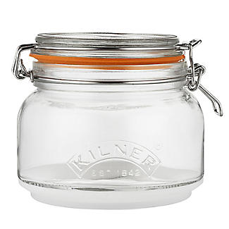 Kilner Stackable Glass Storage Jar Set – 900ml and 2 x 880ml alt image 3