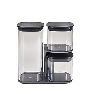 Joseph Joseph Podium 3 Piece Storage Container Set with Stand alt image 4