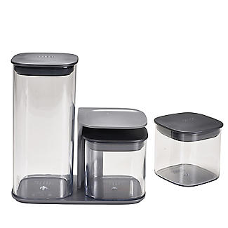 Joseph Joseph Podium 3 Piece Storage Container Set with Stand alt image 5