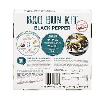 School of Wok Black Pepper Bao Bun Kit 358g alt image 3