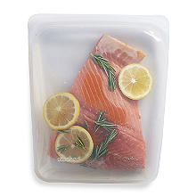 Stasher Reusable Food Storage Bag Clear - Large 1.9L