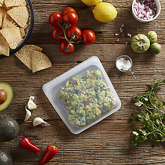 Stasher Reusable Food Storage Bag Clear - Large 1.9L alt image 4
