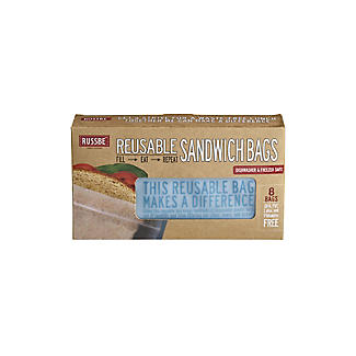 Russbe Reusable Sandwich Bags – Pack of 8 alt image 5