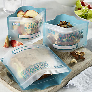 Russbe Reusable Freezer Bags – Pack of 8 alt image 2