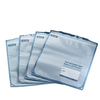 Russbe Reusable Freezer Bags – Pack of 8 alt image 5