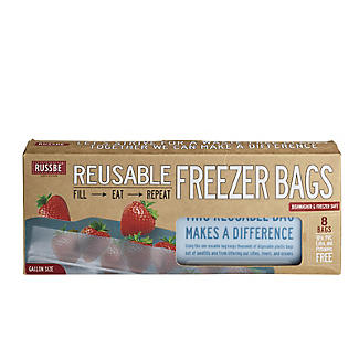 Russbe Reusable Freezer Bags – Pack of 8 alt image 9