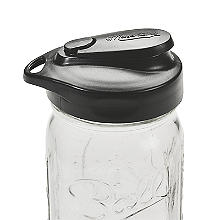 Masontops Multi-Top Regular Mouth Mason Jar Flip-Cap Lid