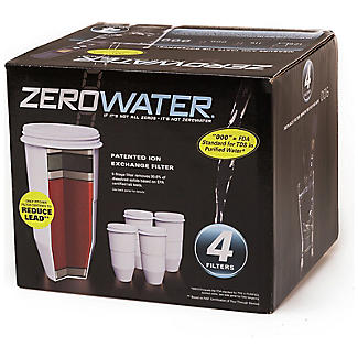 ZeroWater Replacement Water Filters – Pack of 4 alt image 2