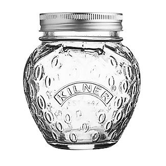 Kilner Strawberry 400ml Jam Jar