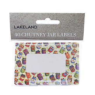 Lakeland 40 Decorative Chutney Jar Labels alt image 2