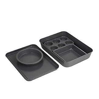 Lakeland Compact Baking Brick 8-Piece Baking and Oven Tin Set alt image 8
