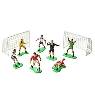PME Football Match Cake Topper Set - 9 Piece Set