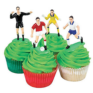 PME Football Match Cake Topper Set - 9 Piece Set alt image 2