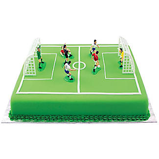 PME Football Match Cake Topper Set - 9 Piece Set alt image 4