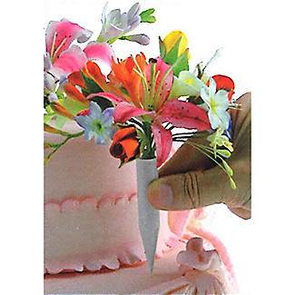 PME Flower Pick Bud Vases For Cakes Medium - Pack of 12 alt image 2