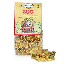 Dalla Costa Tricolour Zoo Pasta Shapes 250g