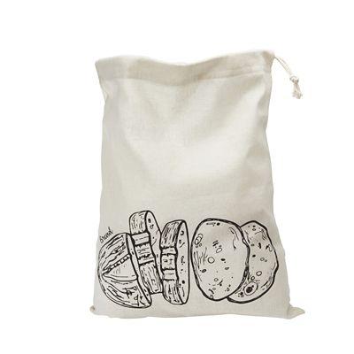 Lakeland Drawstring Bread Storage Bag 36 X 46cm Lakeland