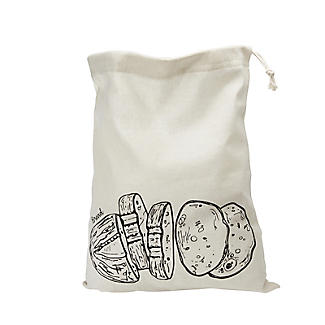 Lakeland Drawstring Bread Storage Bag – 36 x 46cm