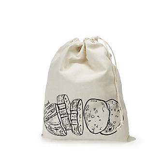 Lakeland Drawstring Bread Storage Bag – 36 x 46cm alt image 3