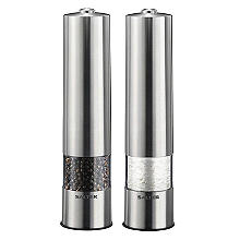 Salter Electronic Salt and Pepper Mill Set