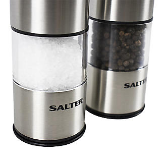 Salter Electronic Salt and Pepper Mill Set alt image 3