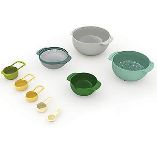 Joseph Joseph Nest 9 Plus Mixing Bowls Sieve And Spoon Set Opal alt image 2