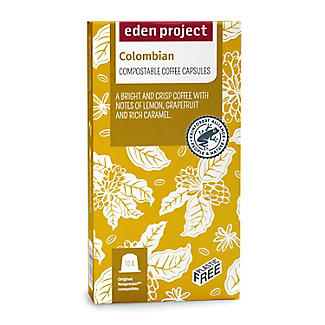 Eden Project Biodegradable Coffee Capsules Colombian – Pack of 10 alt image 2