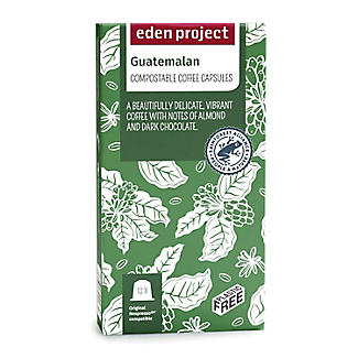 Eden Project Biodegradable Coffee Capsules Guatemalan – Pack of 10 alt image 2