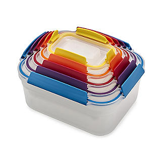 Joseph Joseph Nest Lock 5-Piece Food Storage Container Set Bright