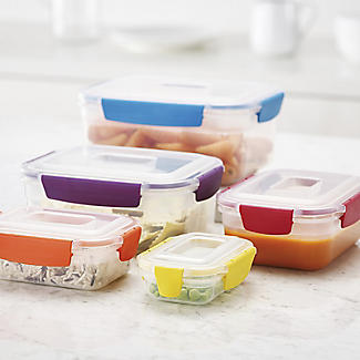 Joseph Joseph Nest Lock 5-Piece Food Storage Container Set Bright alt image 2