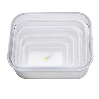 Joseph Joseph Nest Lock 5-Piece Food Storage Container Set Bright alt image 4