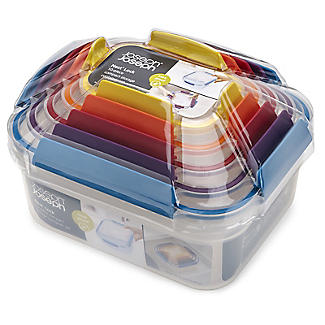 Joseph Joseph Nest Lock 5-Piece Food Storage Container Set Bright alt image 6