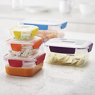 Joseph Joseph Nest Lock 5-Piece Food Storage Container Set Bright alt image 7
