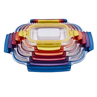 Joseph Joseph Nest Lock 5-Piece Food Storage Container Set Bright alt image 8