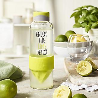 Lock & Lock Detox Sports Water Bottle Lime Green 520ml alt image 2