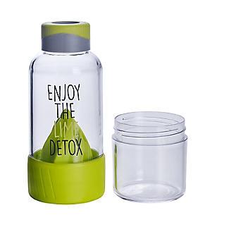 Lock & Lock Detox Sports Water Bottle Lime Green 520ml alt image 3