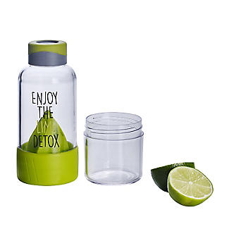 Lock & Lock Detox Sports Water Bottle Lime Green 520ml alt image 4