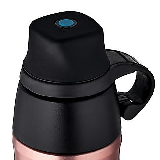Thermos Carbonated Drinks Bottle Rose Gold 500ml alt image 3
